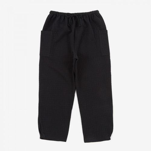 Gathered Cotton Pants
