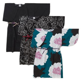 Kimono Sleeve Dress Muslin Wool