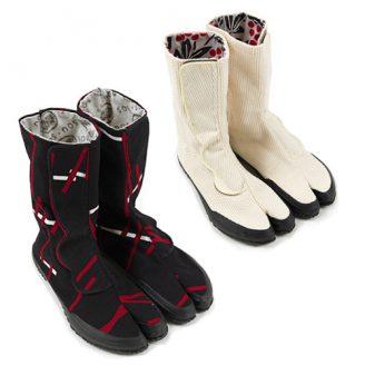 Tabi Short Boots Velcro Tape