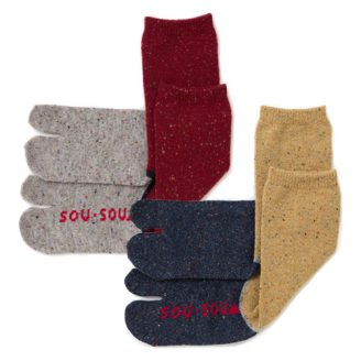 Wool Tabi Socks