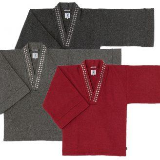 Wool Blend Kimono Tops