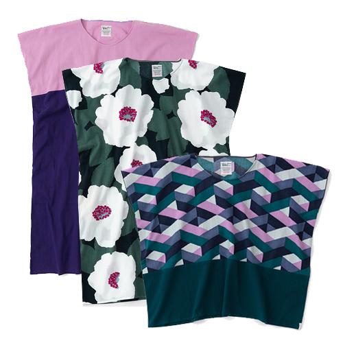 Chizimi Cotton Dress and Tops