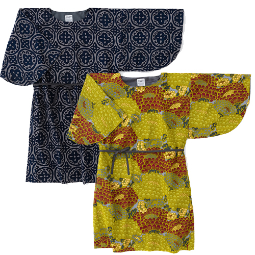 Naginata Dress Muslin Wool