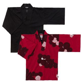 Kimono Tops with Collar