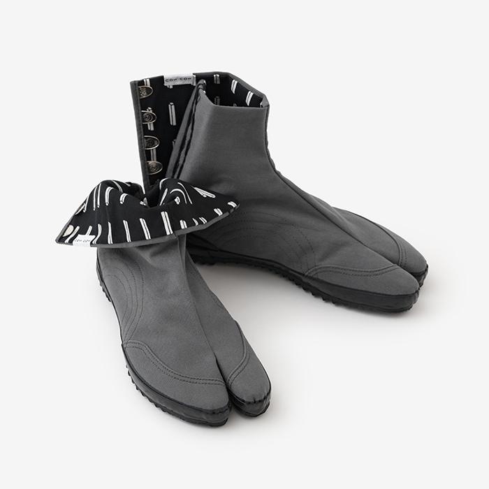 "fdcd15de822 ""Festival"" Tabi Shoes Charcoal Boxes"